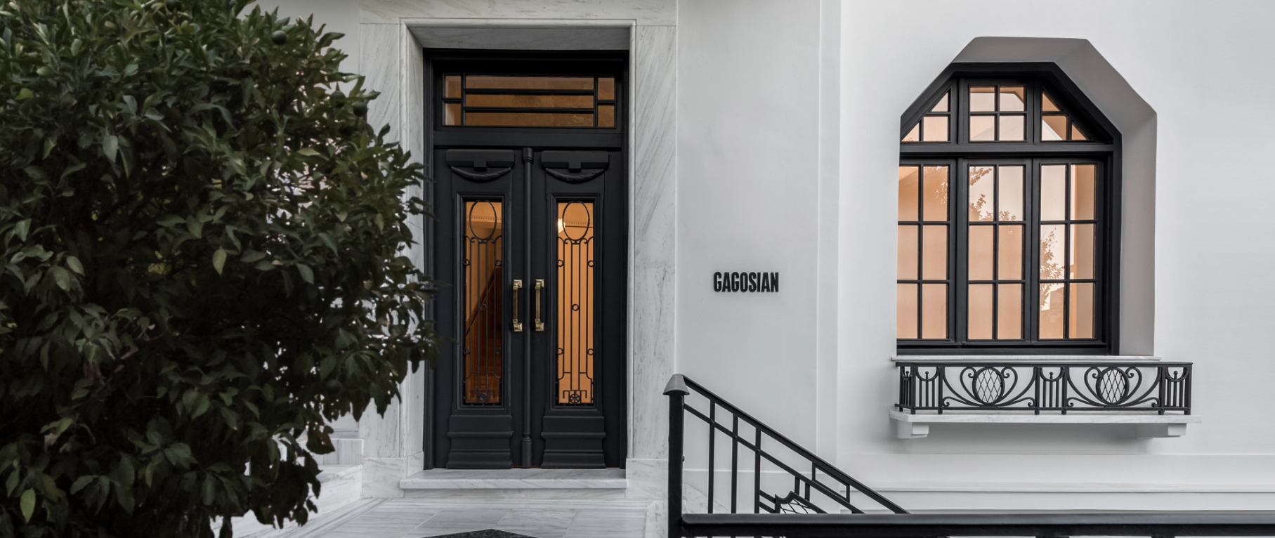 Entrance Gagosian Gallery