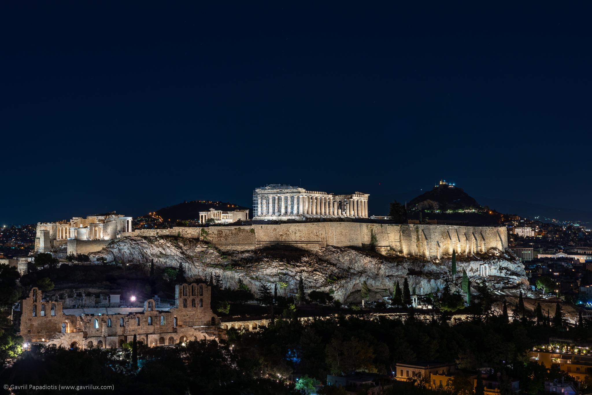 Acropolis of Athens_EleftheriaDeko Lighting_ photo by Gavriil Papadiotis