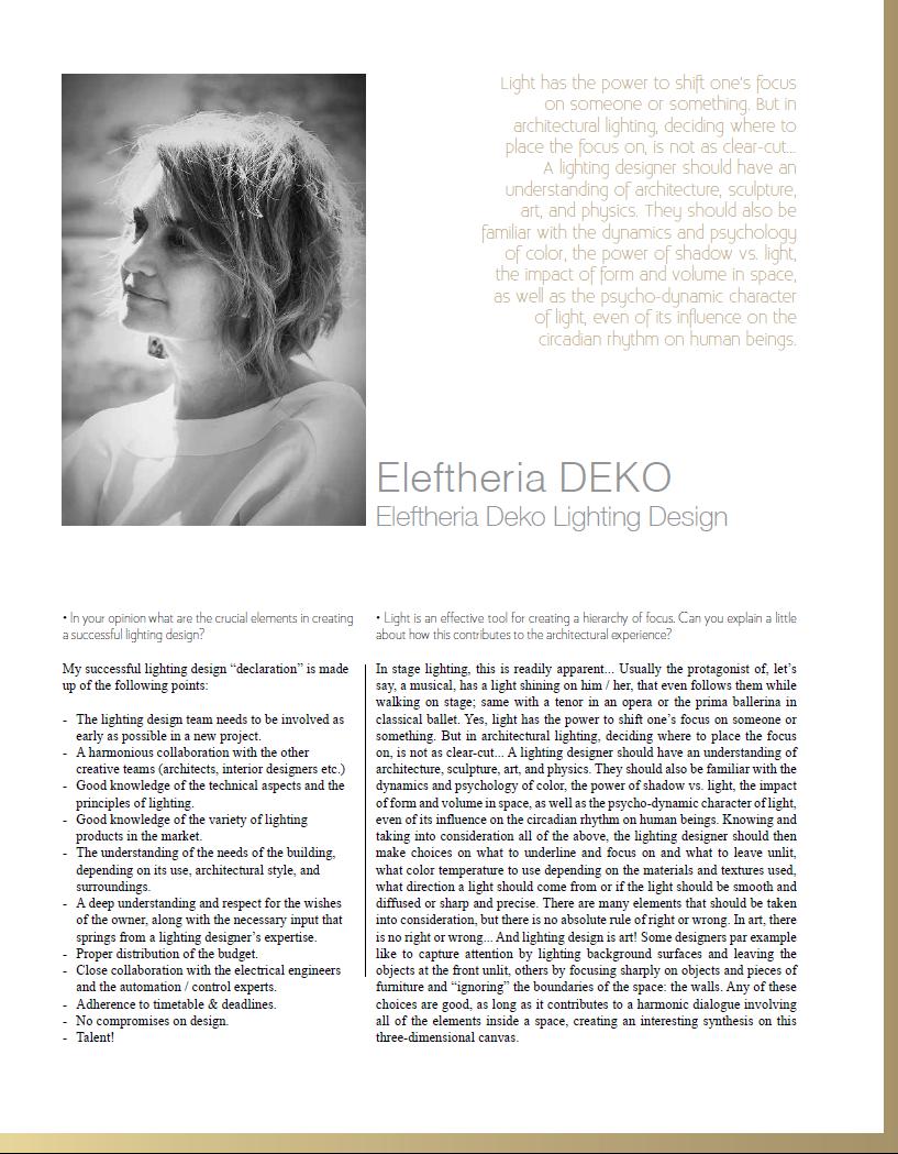 Eleftheria Deko Interview Konsept Projeler