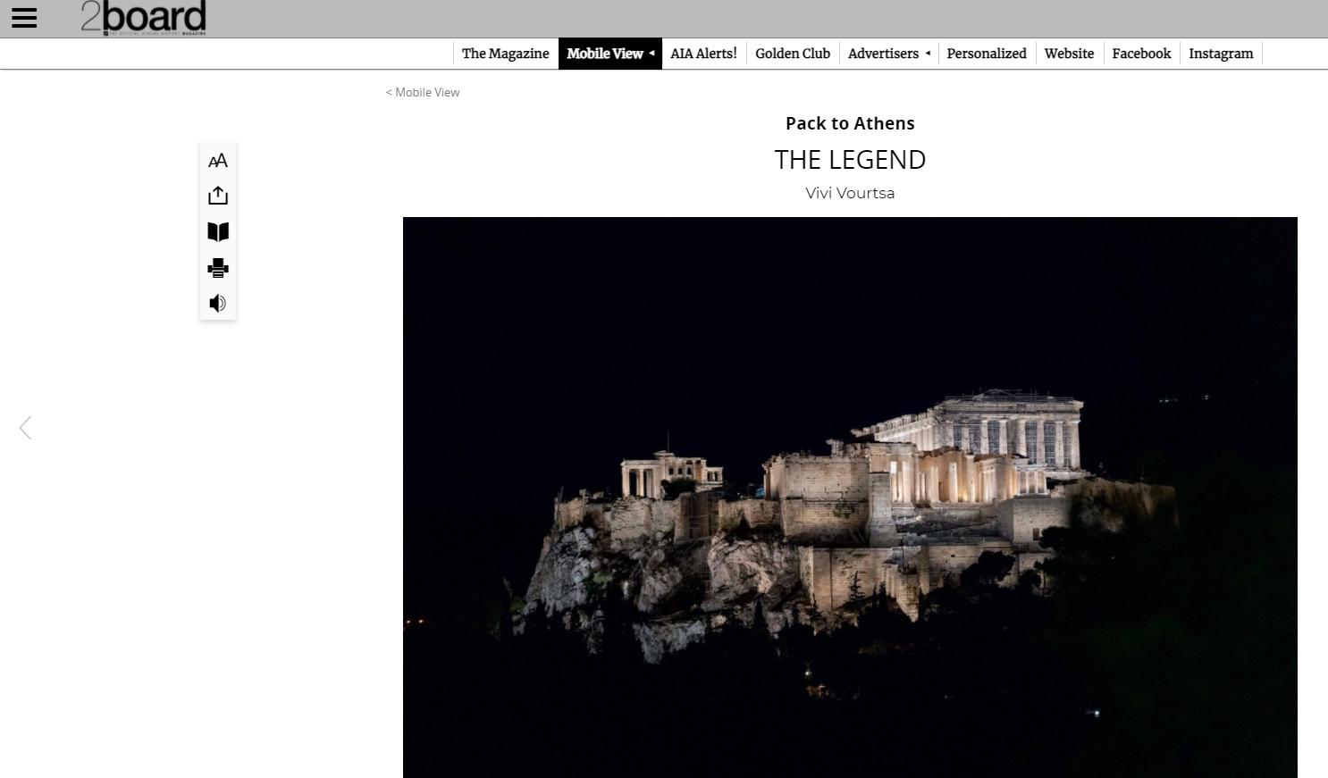 2board press Acropolis of Athens