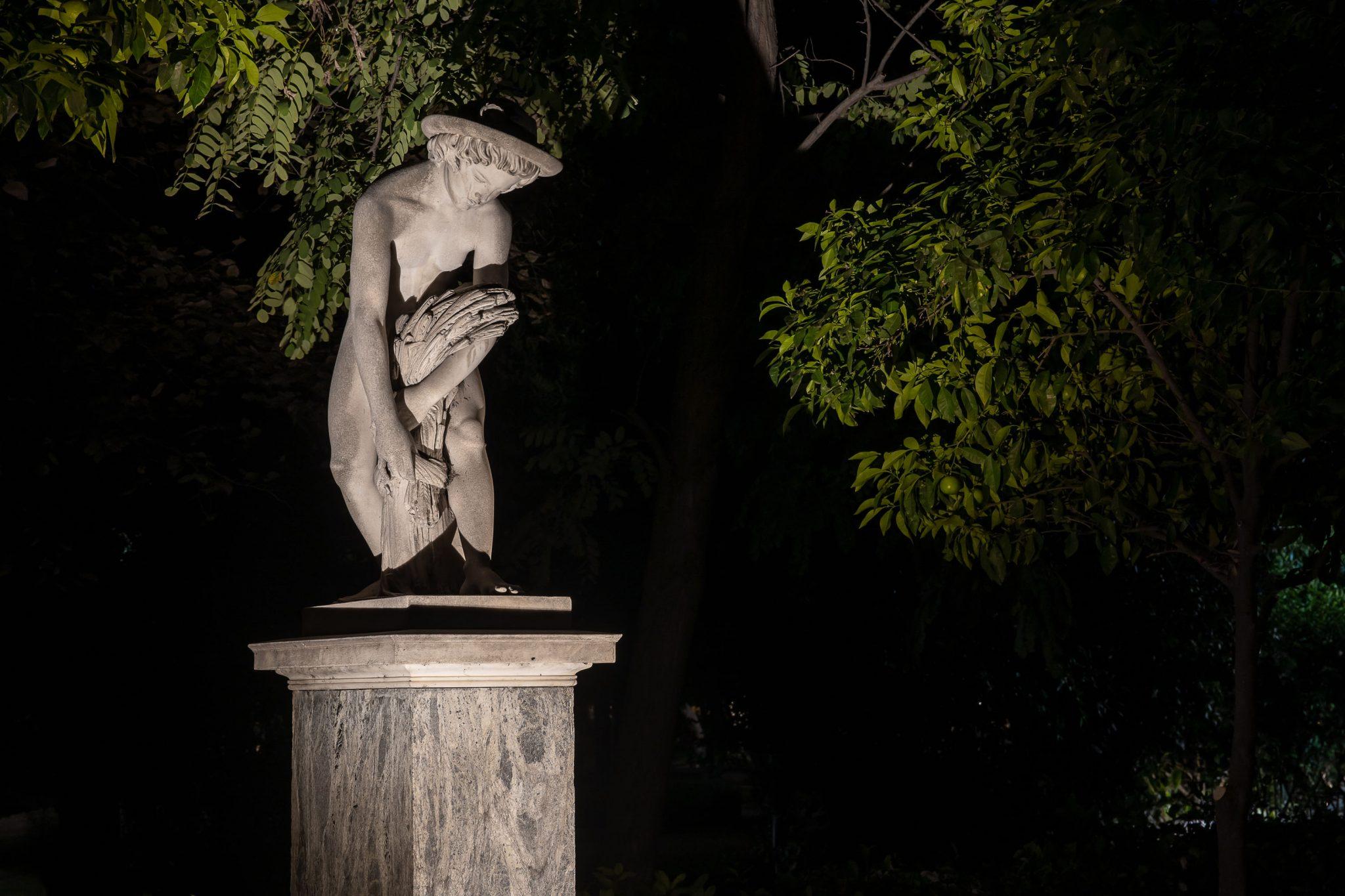 Statues at the Zappeion Megaron